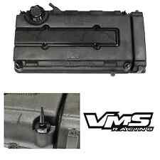 VMS BLACK ENGINE DRESS UP KIT B16 B18 VALVE COVER INSERT WASHER SEAL SPIKE NUT