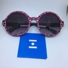 EYEYE IS008 ITALIA INDEPENDENT eyewear occhiali da sole colorati rotondi donna