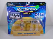 1995 MICRO MACHINES SPACE--STAR WARS XRAY FLEET--XWING STARFIGHTER & AT AT