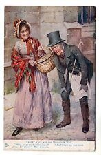 Tuck - Charles Dickens Series No 9852 c1910 Postcard