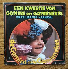 "Charly Ray's Brass Band - Een Kwestie Van Gamins En Gamienekes Belgian 7"" PS"