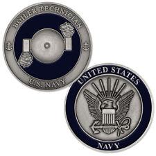 NEW U.S. Navy Boiler Technician (BT) Challenge Coin.