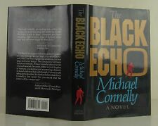 MICHAEL CONNELLY The Black Echo SIGNED FIRST EDITION