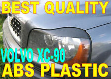 VOLVO XC-90 XC 90  eyebrows headlights spoiler , genuine ABS plastic NEW lids
