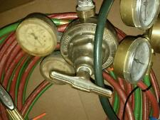 WELDING HOSES, 2 GAUGES, & WELDING TIP