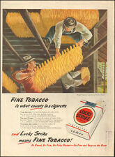 1947 Vintage ad for Lucky Strike Cigarettes`Art, Fletcher Martin (052914)