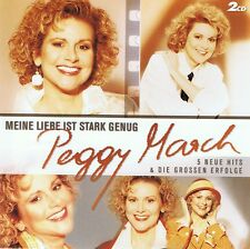 PEGGY MARCH - MEINE LIEBE IST STARK GENUG - 2 CDs Neu Best Of Greatest Hits