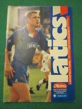PROGRAMME - Wigan Athletic v Mansfield Town - 3 Oct 1992