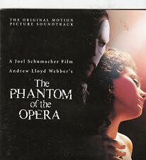 The Phantom of The Opera-2004- Original Movie Soundtrack-14 Track-CD