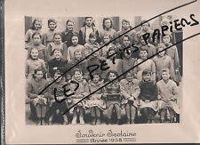 LORETTE PHOTO DE CLASSE 1958 LOIRE 42