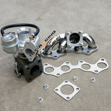 Upgraded CT9 Turbo + SS Exhaust Manifold for Starlet EP82 EP85 EP91 4EFE 4EFTE