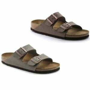 Birkenstock Arizona Birko-Flor Nubuck Mens Sandal in Various Colours and Sizes