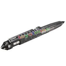 Aluminio Defensa Personal  Tactical pen bolígrafo dispositivo de escritura
