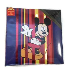 Disney Mickey Mouse Photo Album 152 4x6 Photos w CD Pocket Family Photos 2004