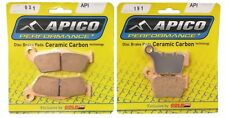 APICO FRONT & REAR BRAKE PADS FOR KTM EXC125 EXC200 EXC250 EXC300 2016 :031-191