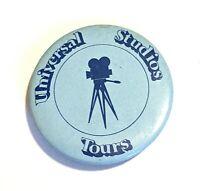 "Universal Studios Tours * Vintage 2 1/8"" Pin Pinback * Combine Shipping!"