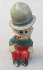 MICKEY McGUIRE Toonerville Trolly 1930s German Nodder bisque figure GRAY HAT
