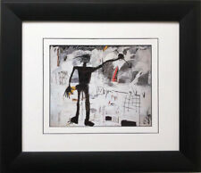 "Jean Michel Basquiat ""Self Portrait"" CUSTOM FRAMED Pop Art Urban NYC"