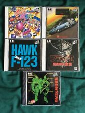 TurboGrafx 16 Cd / Pc Engine Cd / Turbo Duo Games Lot