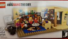 Lego Ideas The Big Bang Theory #21302 |BRAND NEW FACTORY SEALED 484 Pieces NIB