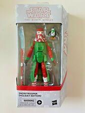 Star Wars Hasbro Black Series Holiday Snowtrooper SEALED Action Figure
