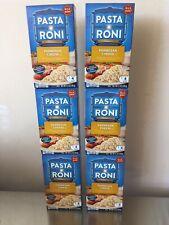 Pasta Roni Parmesan Cheese Six 6 Boxes 5.1 Oz Each