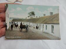 More details for glynn village  co antrim    original edwardian postcard  victorian stamp