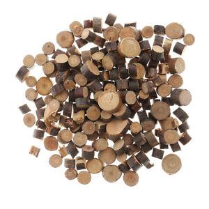 100 Wooden Wood Log Slices Tree Bark Discs Decorative Rustic Wedding Favours