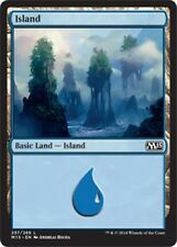 4 x Island (257/269) - M15 2015 Core Set - Magic the Gathering MTG Basic Land