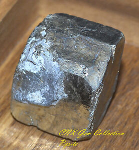 Natural Gemstone Crystal 1 Piece of Large Raw Rough Pyrite Fools Gold Cube