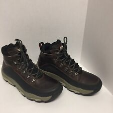 GoLite Ankle Boots Neoform Hiking/Work Brown Leather Mens Shoes Size 10.5/EUC