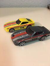 Hot Wheels Nissan 240sx Lot 2 Loose. Kmart Exclusive Grey