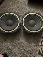 Bass Speakers Made In Taiwan 2 Set