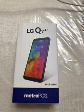 New listing New Lg Q7+ Plus Metro Pcs 64Gb Blue 4G/Lte T- Mobile Gsm Warranty