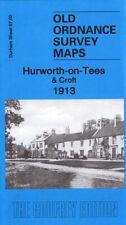 Old Ordnance Survey Map Hurworth-on-Tees & Croft 1913 - Durham Sheet 57.02