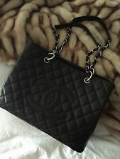 Chanel Quilted Caviar Classic Large Tote In Coco Brown NWT