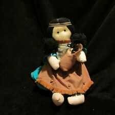 1988 Indian Doll with Papoose Toy