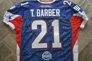 AUTHENTIC New York Giants TIKI BARBER Pro Bowl Jersey 2007 Berlin USA 52 PRO CUT