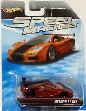 Hotwheels Speed Machines McLaren F1 GTR Mattel