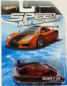 Hot Wheels Speed Machines McLaren F1 GTR Mattel