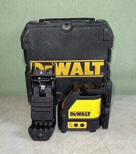 Dewalt DW088CG Cross Line Self Levelling Green Laser Level with Case