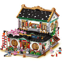 LOZ MINI Block Kids Building Toys Adult Puzzle Chinese Courtyard House 1034