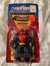 MANTENNA MOC MINT ON SEALED CARD HE-MAN 1984 MOTU VINTAGE FIGURE HORDE Mattel .