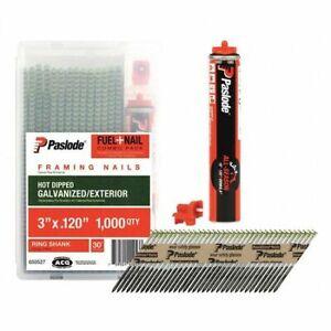 Paslode 650535 Fuel/Framing Nail, 3-1/4 In,Pk1000
