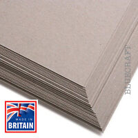 25 sheets x A4 Extra Thick Greyboard Crafting Card 1000 microns - 1 kilo Pack