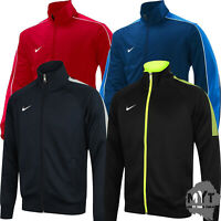 New Nike Men's Team Poly Club Full Zip Tracksuit Top Trainer Jacket Football