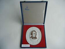 Meissen Medaillon Franz Schubert + Original-Schatulle (meine Pos. 1)