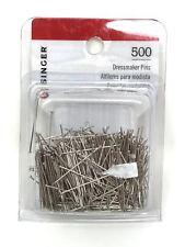 lot of 500 count Singer Dressmaker Pins sewing hemming craft dress making