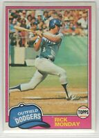 1981 Topps Baseball Los Angeles Dodgers Team Set (Fernando Valenzuela rookie)