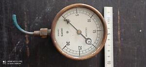 Vacuum  meter Dampfmaschine vacuum Gauge Steam engine